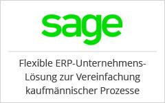 ERP - Enterprise Resource Planning. sage